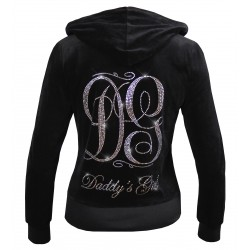 QUEEN VELOUR JACKET MONOGRAMME DG