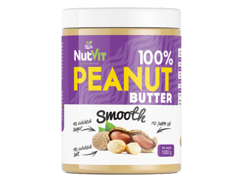 PEANUT BUTTER  smooth1 kg