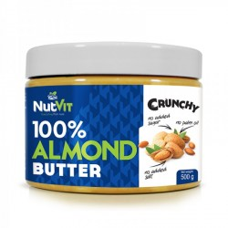 ALMOND BUTTER cruchy 500g