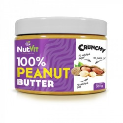 PEANUT BUTTER crunchy 500g