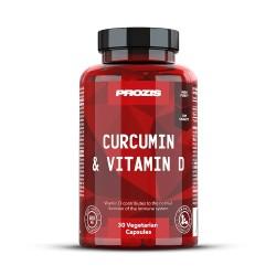 CURCUMIN & VITAMIN D