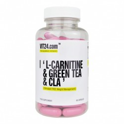 L-CARNITINE + CLA + GREEN TEA 90